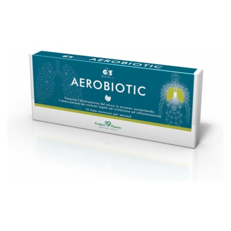 GSE AEROBIOTIC 10 FIALE PER AEROSOL