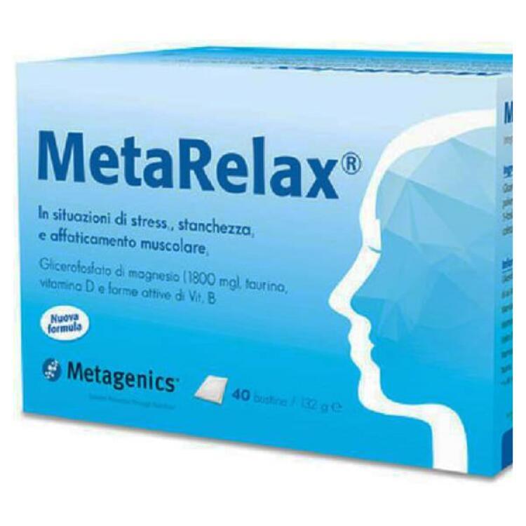 metagenics metarelax metagenics 40 bustine comp