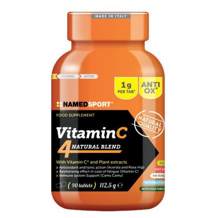 Vitamina C 4 natural blend 90 compresse