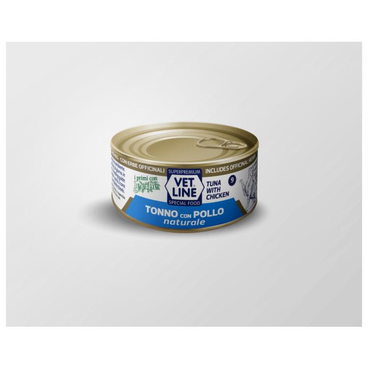 tonno con pollo naturale 24 pezzi x 150gr