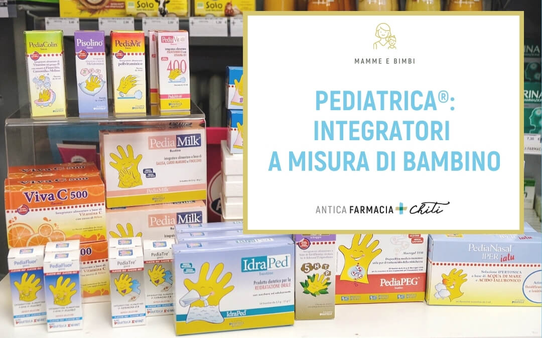 PEDIATRICA®: integratori a misura di bambino