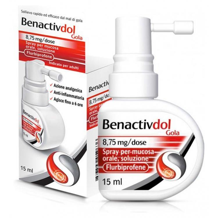 benactivdol gola spray 15ml 1